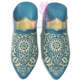 Vine Pattern Flat Slippers