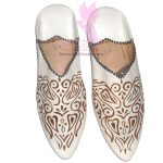 Hearts & Vines Flat Slippers