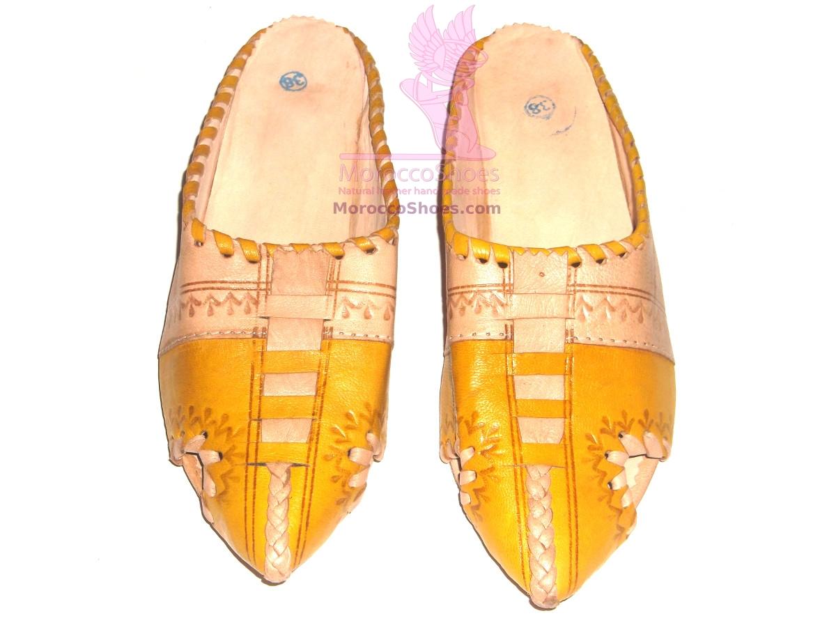 Zigzag Flat Slippers