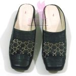 Floral Cut Slippers