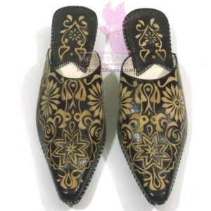 Vine Embossed Slippers