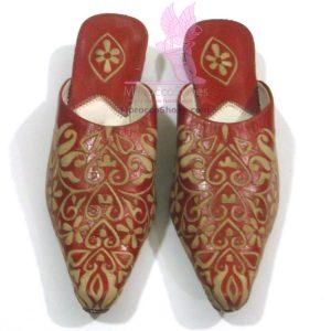 Heart Embossed Slippers