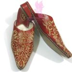 Heart Embossed Slippers