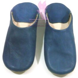 Natural Leather Home Slippers