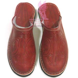 Brogue style mens Slippers