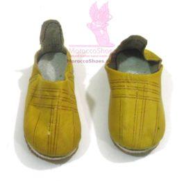 Line Pressed mens slippers
