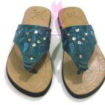 Embroidered Thong Sandal
