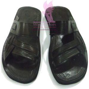 Leather Weave Sandal