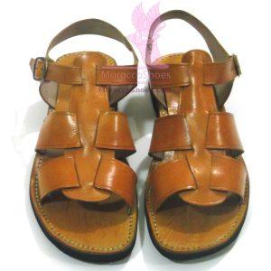 Leather Strap mens Sandal