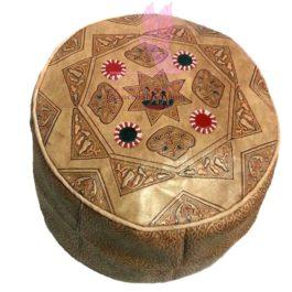 Queen of Sheba Leather Bean Bag