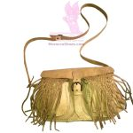 Braided Front Tassel Purse