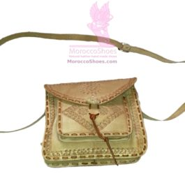 Ribbon Stitching Purse