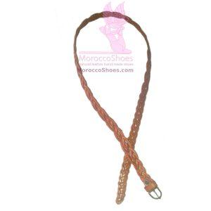 Loose Braided Belt